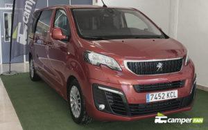 Frontal Peugeot Traveller