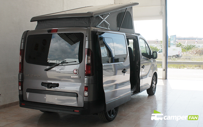 Exterior Fiat Talento L1H1 con techo elevable