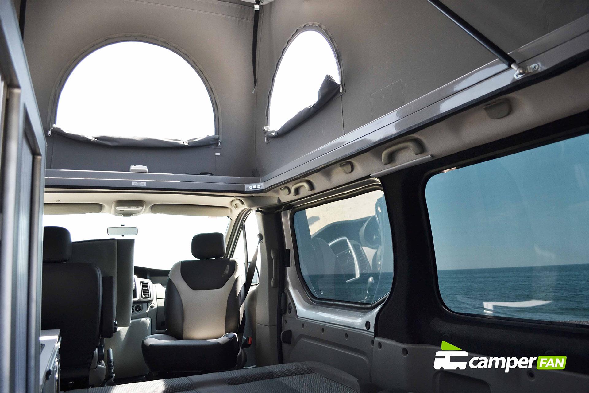 Techo elevable interior