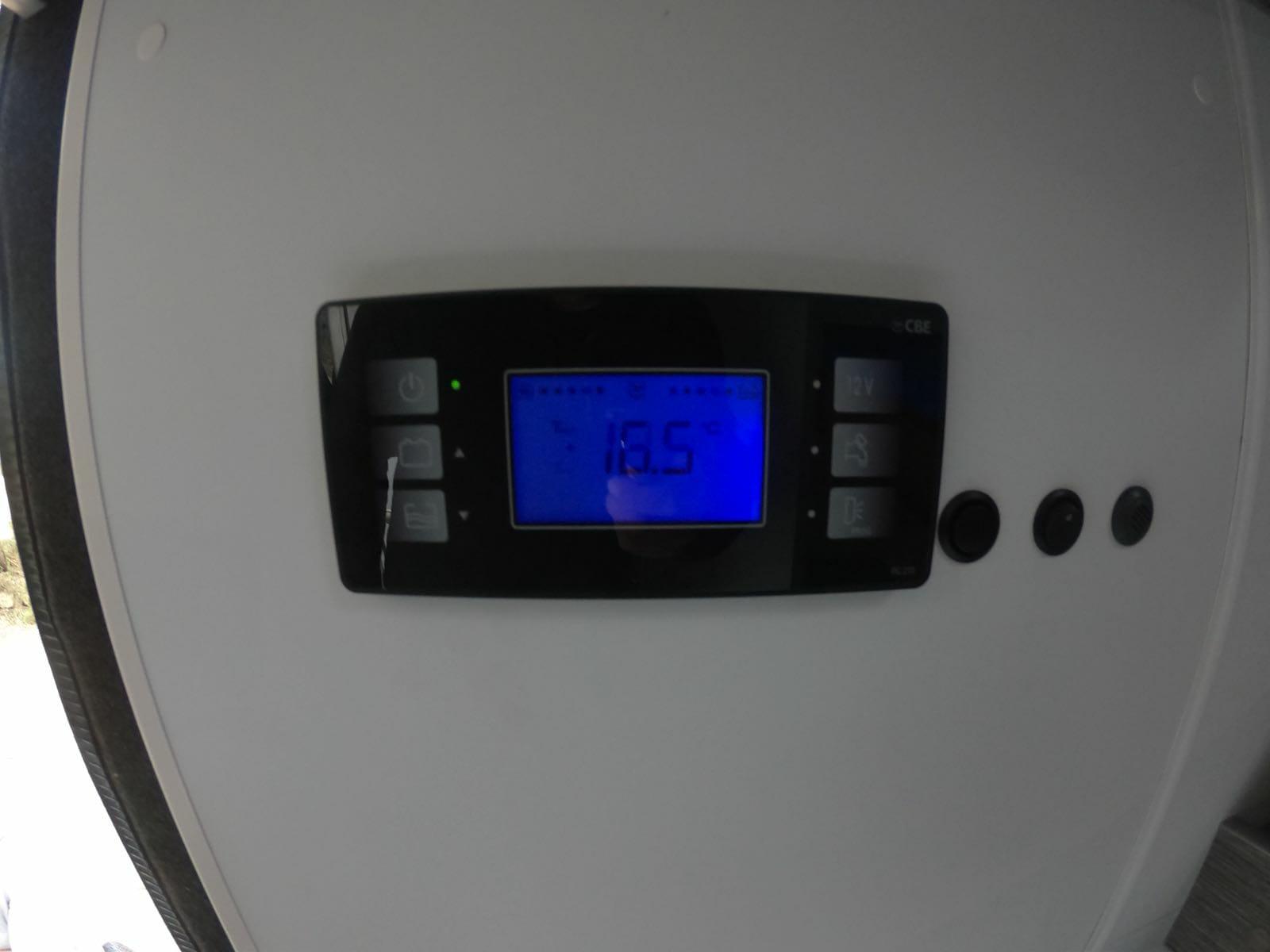 VW Crafter Calefaccion