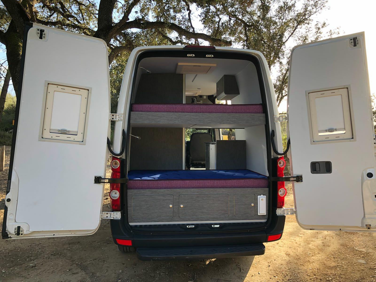 VW Crafter Parte Trasera