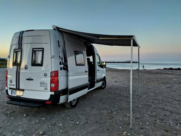 VW Crafter Toldo